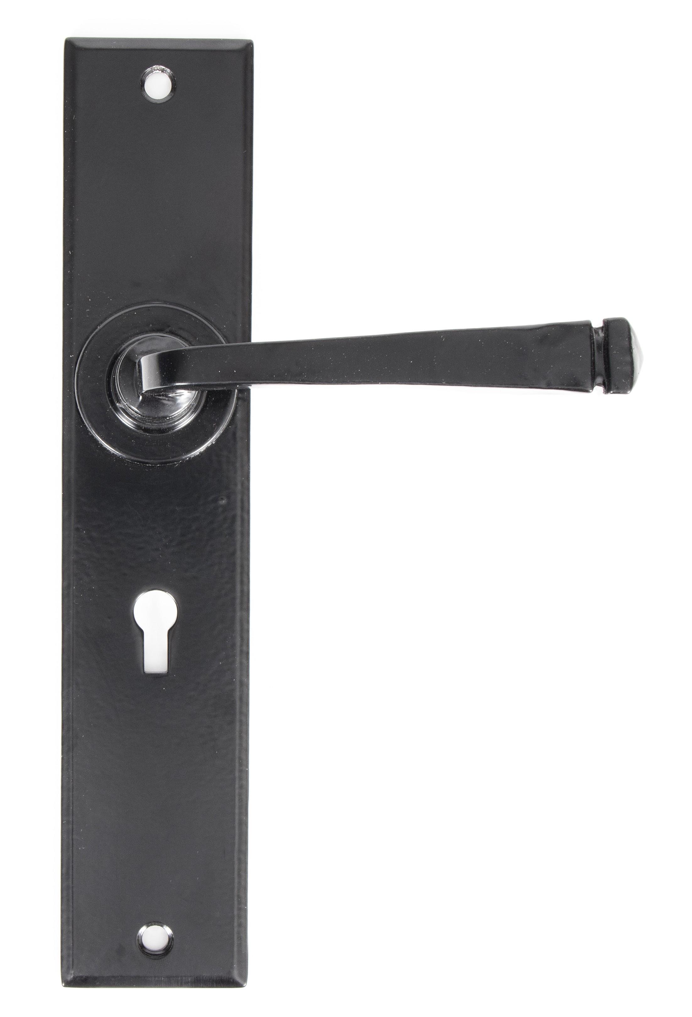ANVIL - Black Large Avon Lever Lock Set