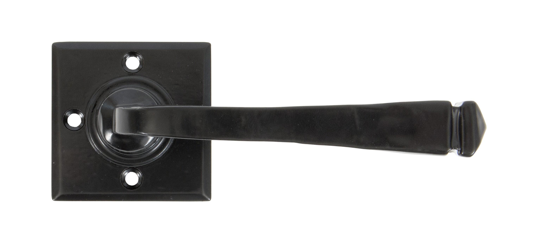 ANVIL - Black Avon Lever on Rose Set Unsprung