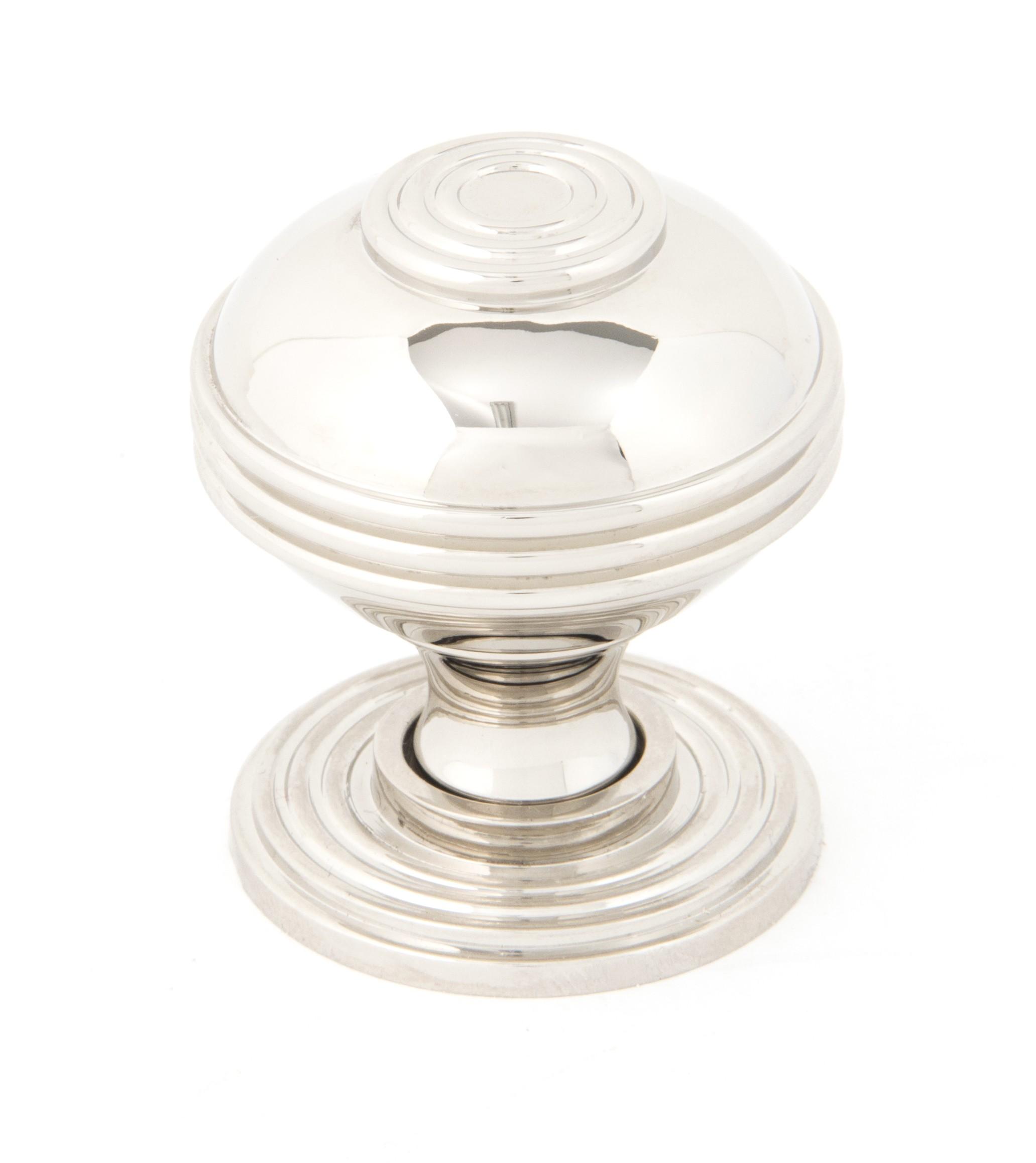 ANVIL - Polished Nickel Prestbury Cabinet Knob - Large