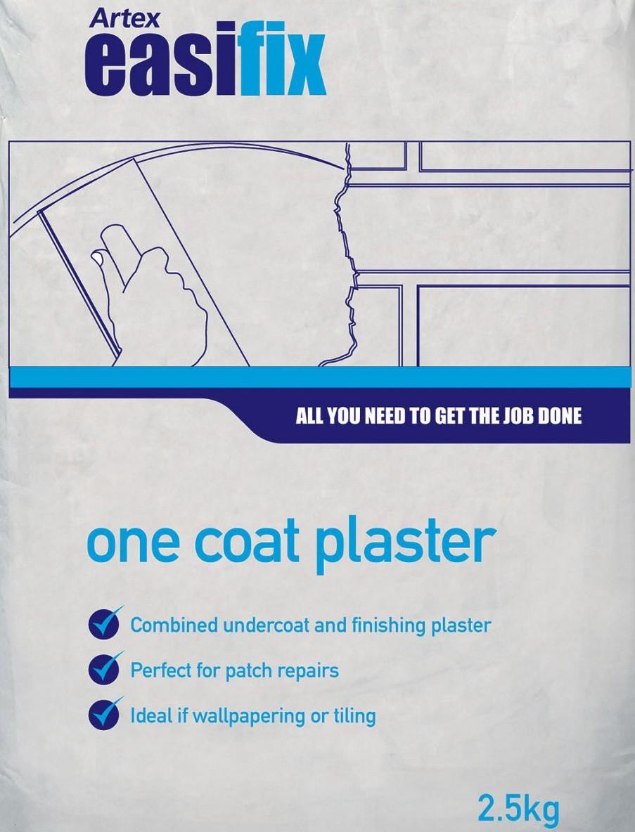 ARTEX Easifix Finishing Plaster 2.5kg  ATX576382