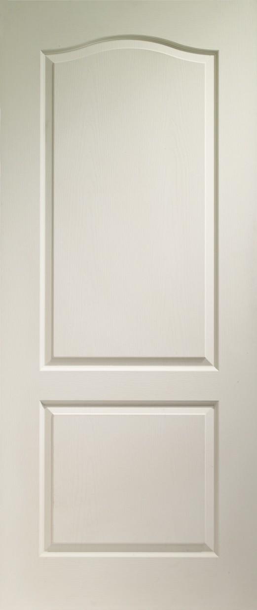XL JOINERY DOORS -  WM2P21  Internal White Moulded Classique 2 Panel  WM2P21