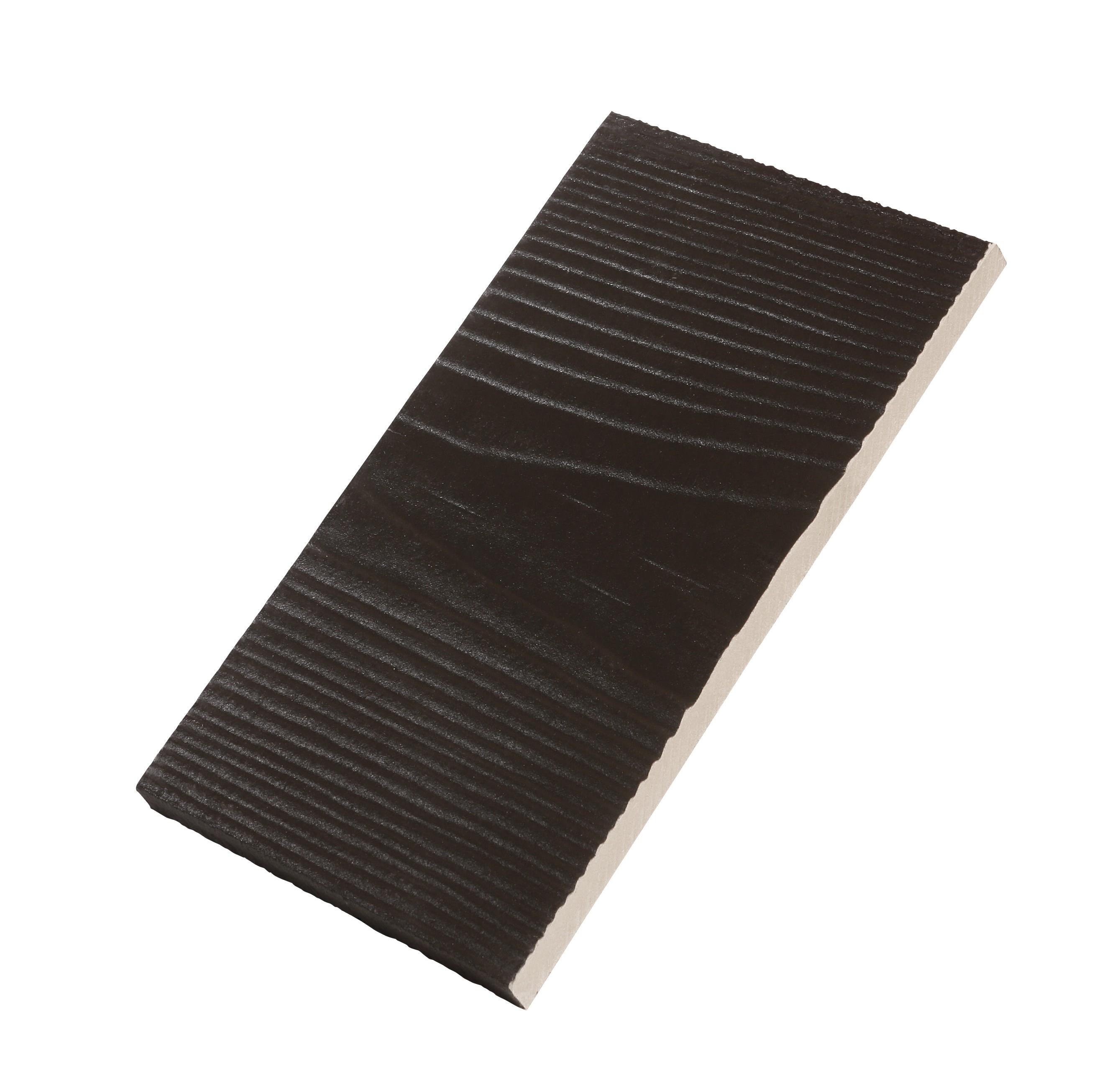 Cedral Click Weatherboard Cladding - Dark Brown