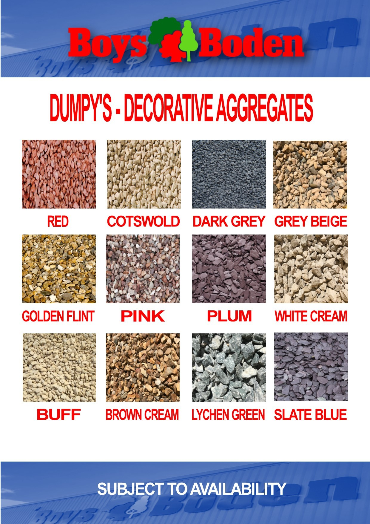 DUMPY BAG -Lychen Green Chippings Decorative Aggregate