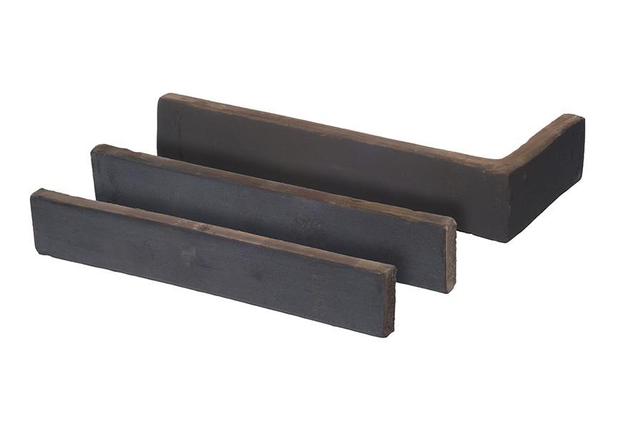 Imperial Brick Designer Linear - Metallic Blue Brick Tile