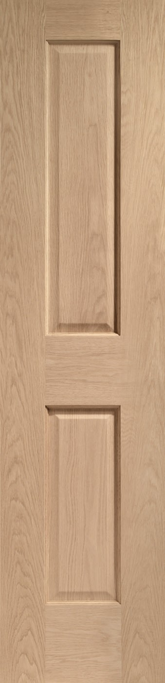 XL JOINERY DOORS -  INTOVIC21  Internal Oak Victorian 2 Panel  INTOVIC21