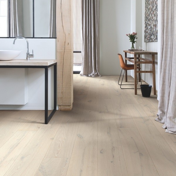 QUICK STEP WOOD FLOORING Everest White Oak Extra Matt