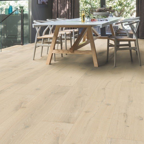 QUICK STEP WOOD FLOORING Frozen Oak Extra Matt