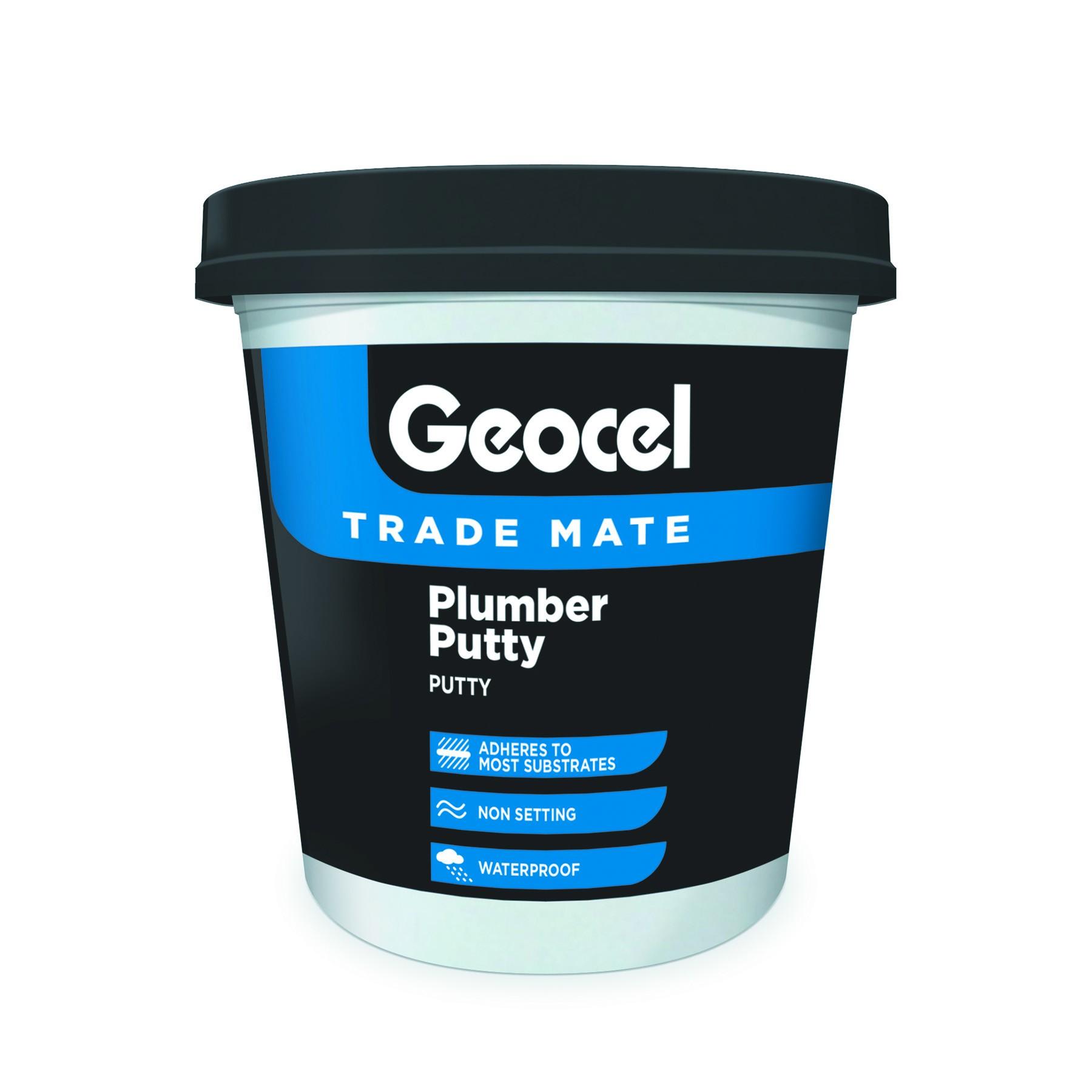 Geocel Trade Mate Plumber Putty 750g Grey [GEOTMPUTTY]