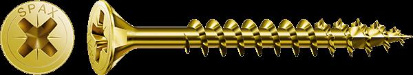SPAX-S Pozi Flat CSK ZY 4.0 x70mm 100Pk - SCREWS  ABC400703