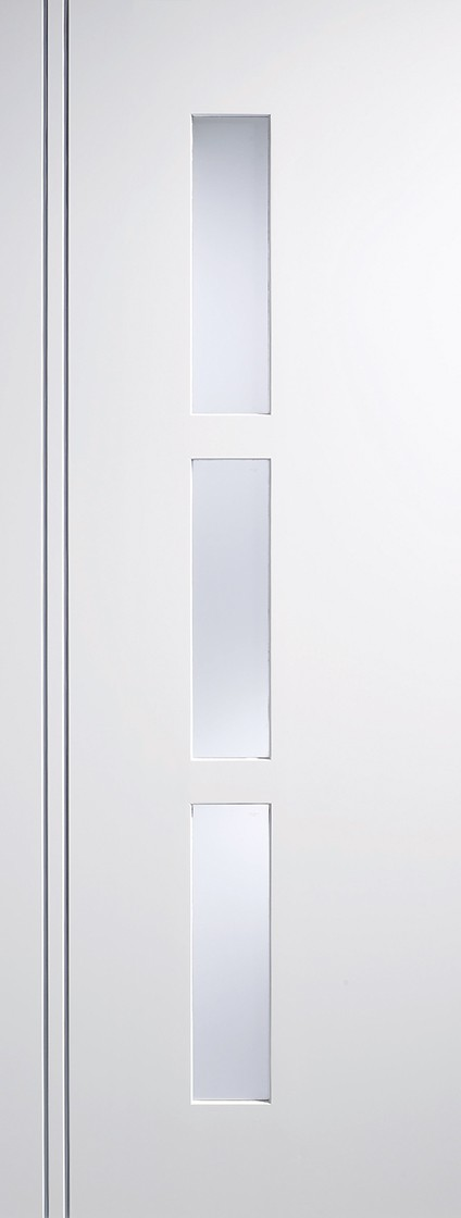 "LPD - Internal Door - White Sierra Blanco Glazed 3L 1981 x 838 (33"")  SIEWHIGL33"