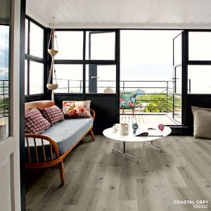 Ibrido Icona Plank Wood Flooring 1220x182x6.5mm - Coastal Grey  1002IC