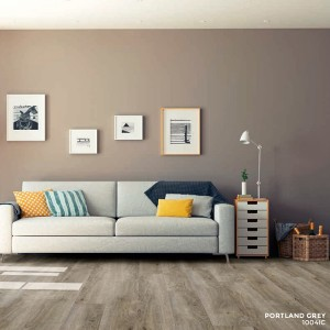 Ibrido Icona Plank Wood Flooring 1220x182x6.5mm - Portland Grey  1004IC