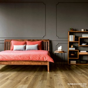 Ibrido Icona Plank Wood Flooring 1220x182x6.5mm - Sunbleached Oak  1006IC
