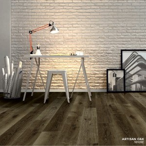 Ibrido Icona Plank Wood Flooring 1220x182x6.5mm - Artisan Oak  1010IC