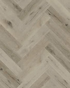 Ibrido Herringbone Wood Flooring 600x182x6.5mm - Coastal Mist  1012IH