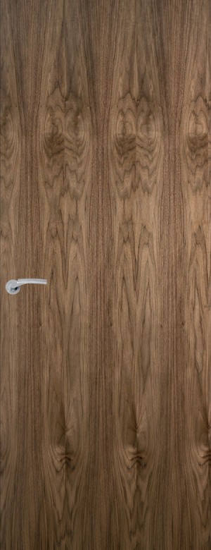 Premdor American Black Walnut Veneer Internal FD60 Fire Door