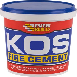 EVERB BLACK KOS Fire Cement 1kg  EVBKOSBKFIRE1