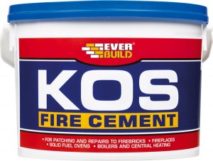 EVERB BLACK KOS Fire Cement 2kg
