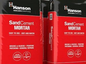 HANSON Sand Cement Mortar - Maxi Pack