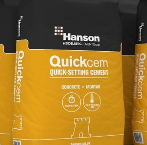 QUICKCEM 25KGS BAGS - CASTLE [RAPID HARD]