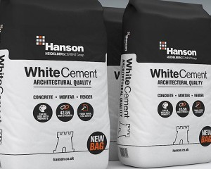 WHITE PORTLAND CEMENT - 25KG BAG - CASTLE