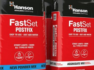 HANSON Fast Set Powder Postfix -Maxi Pack