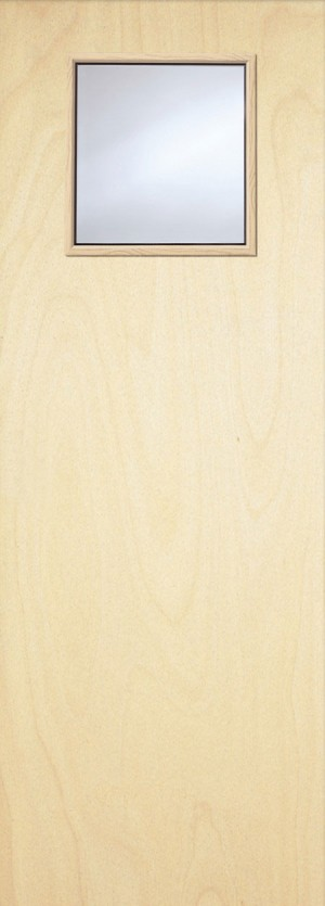 Premdor Popular Paint Grade  1G Internal Fire Door - With Clear Wired Glass