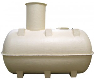 Septic Tank 2800L (600 Gallon) Tank and Lid [HDEKST0]