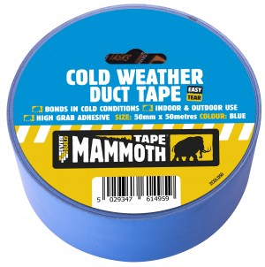 SikaEverbuild Cold Weather Duct Tape 50mm x50m Blue [EV2COLD50]