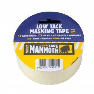 SikaEverbuild Mammoth Low Tack Masking Tape Off White