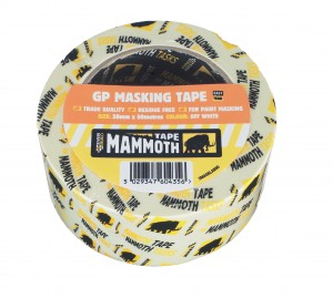 SikaEverbuild Mammoth GP Masking Tape Off White