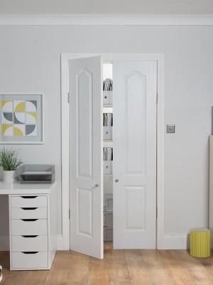 JELDWEN White 30 Minute Fire Cupboard Doors