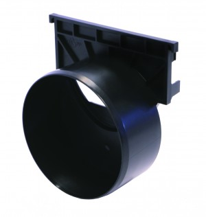 ACO DRAIN - ACO38505 Raindrain + End Cap Out Let