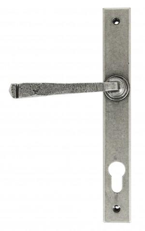 ANVIL - Avon Slimline Lever Espag. Lock Set - Pewter Patina  Anvil33034