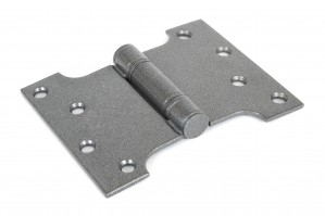"ANVIL - Pewter 4'' x 3"" x 5"" Ball Bearing Parliament Hinge (pair)  Anvil33046"
