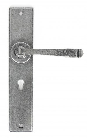 ANVIL - Pewter Large Avon Lever Lock Set