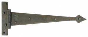 ANVIL - Beeswax 12'' Arrow Head T Hinge (pair)  Anvil33206