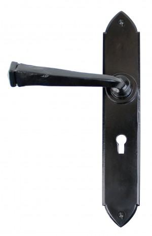 ANVIL - Black Gothic Lever Lock Set