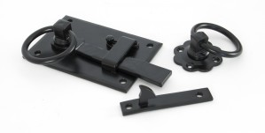 ANVIL - Black Cottage Latch - LH  Anvil33294