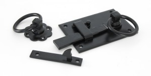 ANVIL - Black Cottage Latch - RH  Anvil33295