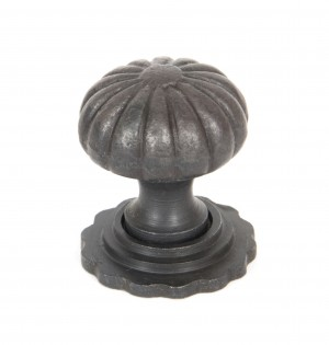 ANVIL - Beeswax Cabinet Knob with Base - Small  Anvil33377