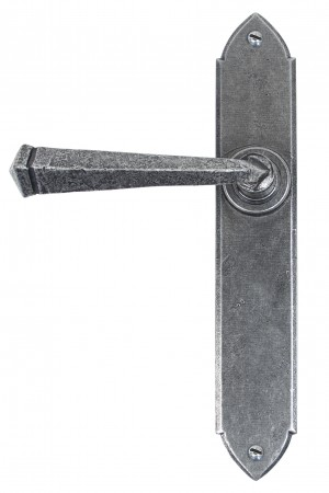 ANVIL - Pewter Gothic Lever Latch Set