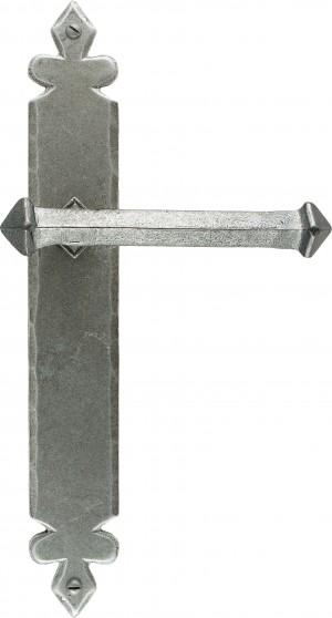 ANVIL - Pewter Tudor Lever Latch Set