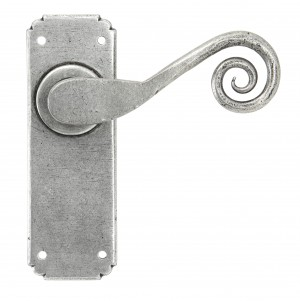 ANVIL - Pewter Monkeytail Lever Latch Set