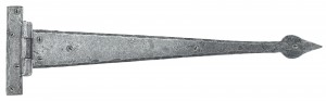 "ANVIL - Pewter 18"" Arrow Head Hinge (pair)"