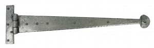 "ANVIL - Pewter 22"" T Hinge (pair)"