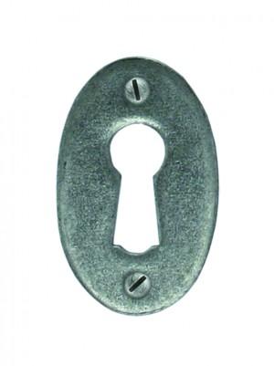ANVIL - Pewter Oval Escutcheon  Anvil33665