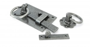 ANVIL - Pewter Cottage Latch - LH  Anvil33666