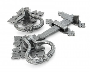 ANVIL - Pewter Shakespeare Latch Set  Anvil33685