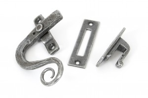 ANVIL - Pewter Monkeytail Fastener LH - Locking